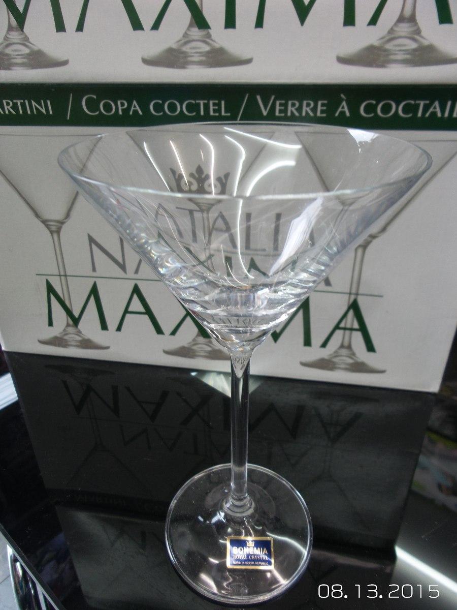 Copas y jarrones en cristal de bohemia en for Copas bohemia