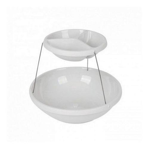 copetinero bowl plegable 2 pisos fiestas eventos cumpleaños!