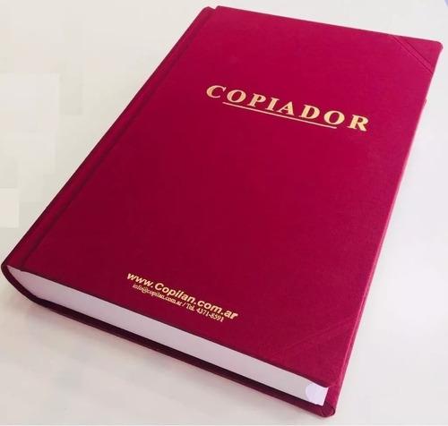 copia de libros contables - copia de actas - en el acto