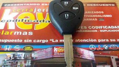 copia de llaves codificadas toyota corolla telecomando
