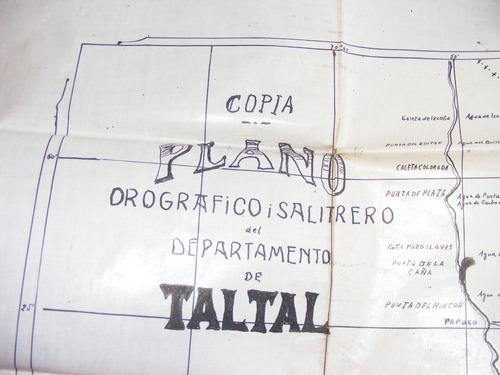 copia de plano orografico -salitrero  1907 taltal