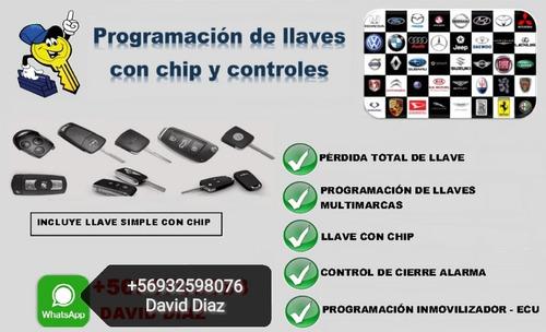 copia llaves con chip transponder