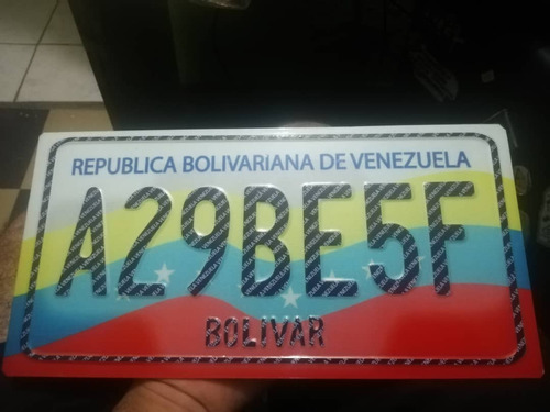 copia placa de carro y moto (restauradas)