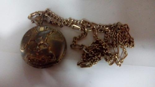copia reloj bolsillo antiguo vintage eagle