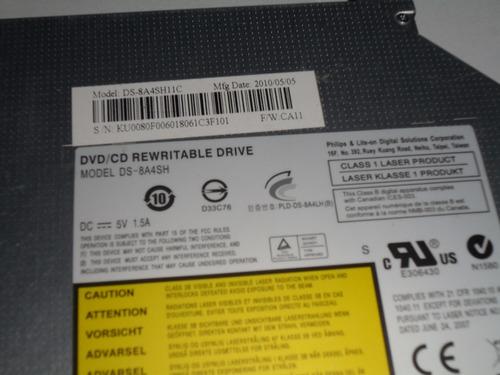 copiadora dvd acer sata