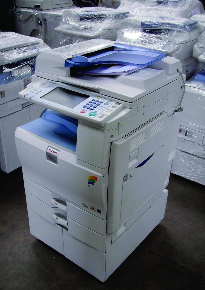 Copiadora Impresora Color Laser Escaner Tabloide Ricoh Mp