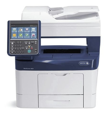 copiadora impresora multifuncional xerox wc 3655 47ppm carta