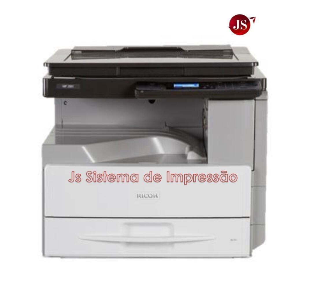 Copiadora Ricoh Mp2001 Completa Seminova - R  1.990,00 em Mercado Livre b20b2eb3ab