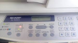 copiadora sharp al1655cs