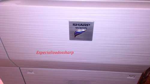 copiadora sharp mxm753 impresora escaner usb copiadora