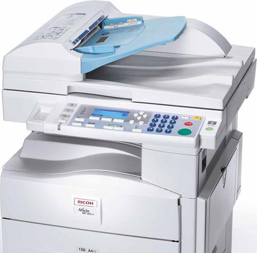 copiadoras ricoh b/n  mp 201  scaner a color toner ricoh