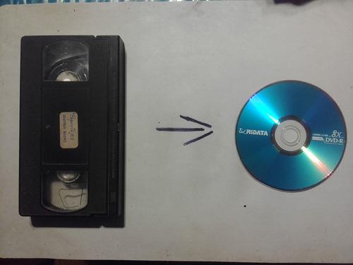 copiamos cassettes de vhs a dvd's