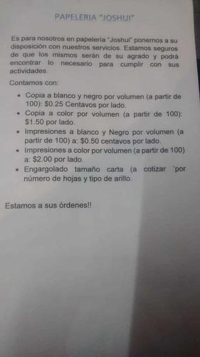copias e impresión por volumen