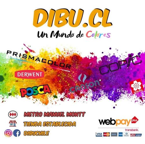 copic ® ciao - 7 unidades, rainbow doodle - dibuchile