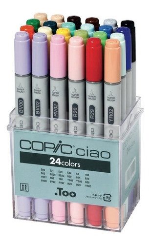 copic ciao set 24 - cromarti