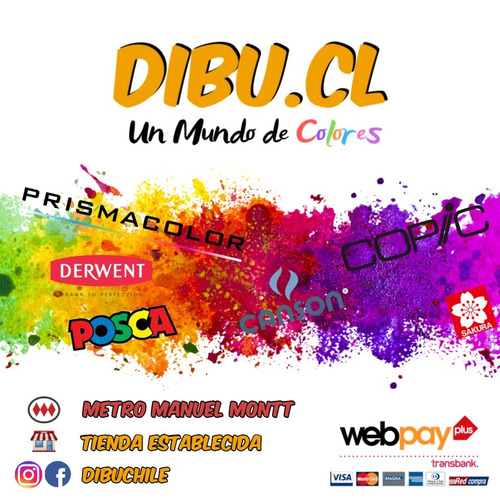 copic ciao set 36 marcadores colores c - dibuchile