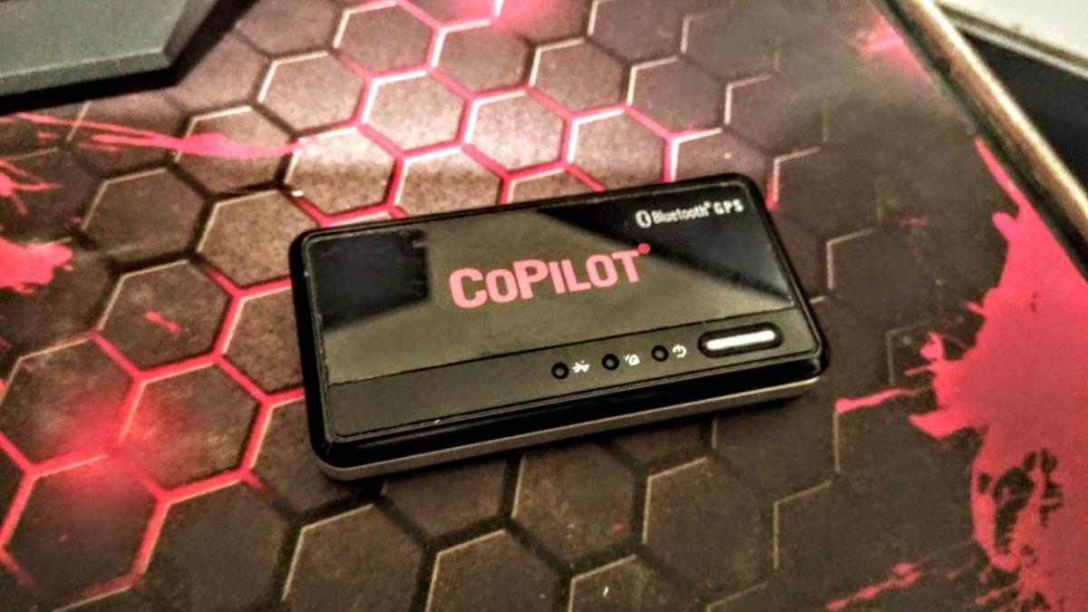 Copilot Bluetooth Gps  Aumenta Precisão Do Gps Interno