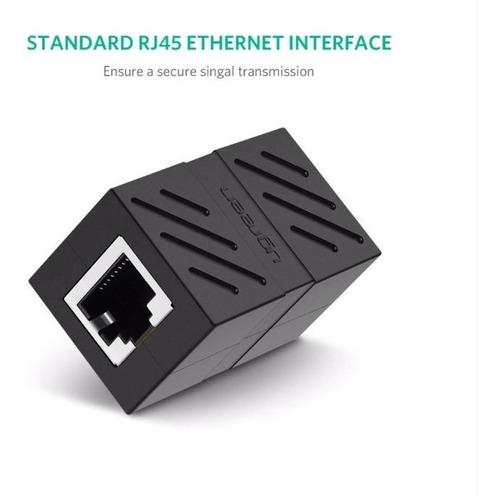 copla ugreen unión cable cat7 rj-45 1000mbps sirve cat6/5e/5