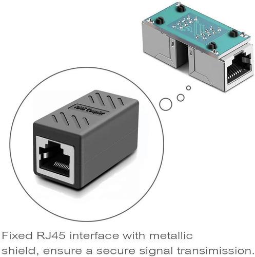 copla unión cable red cat7 rj-45 1000mbps cat7/6/6e/5e/5