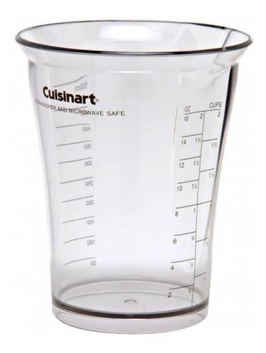 copo acrílico de medida mixer cuisinart csb77 csb75 3693