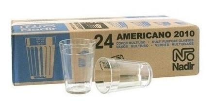 copo americano 190ml nadir 24 peças restaurantes,buffet (fp5