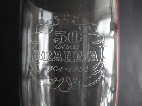 copo brahma 50 anos.