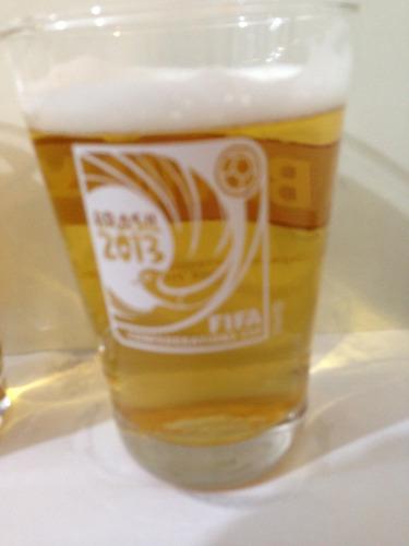 copo caldereta cerveja brahma copa confederações fifa 2013