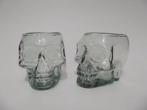 copo caveira caipirão grande 600ml em vidro