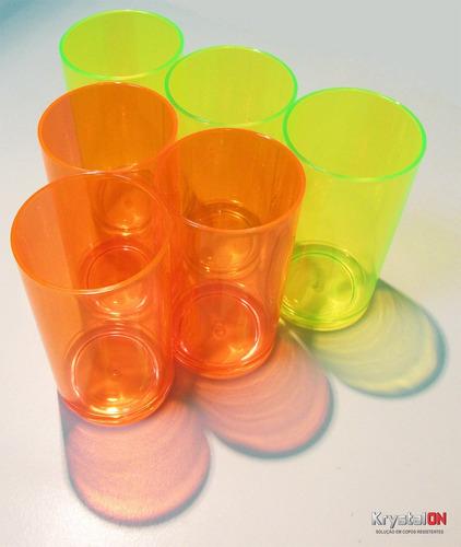 copo colorido - jogo com 6 peças