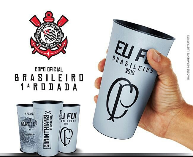 Copo Corinthians X Fluminense Camp Brasileiro 2018 - R  23 ddccfe2568bc8