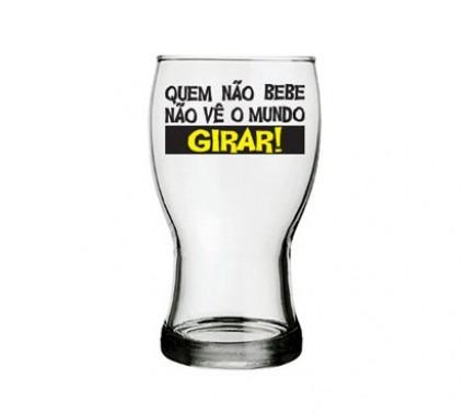 copo de cerveja mundo girar 220 ml