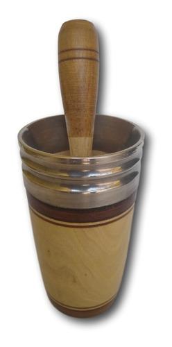 copo de madeira para caipirinha ref: 9391