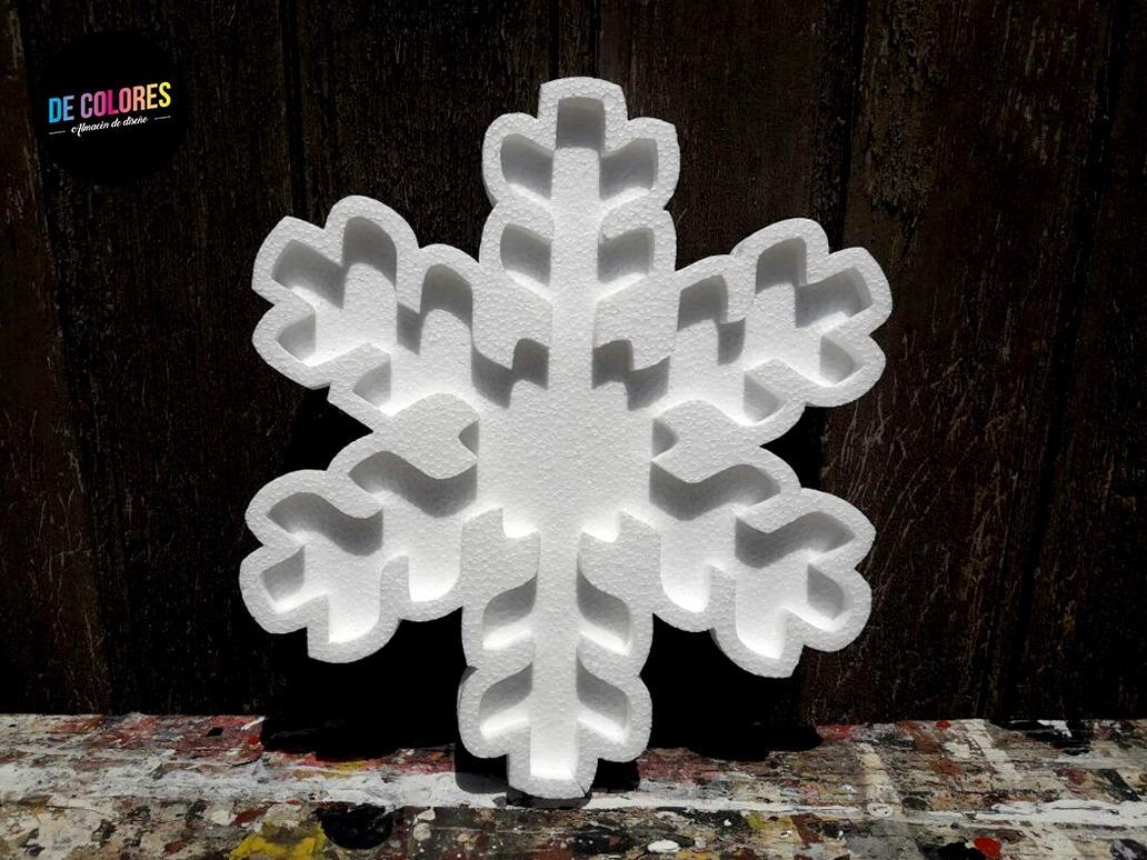 Copo De Nieve Frozen Figuras Huecas Caladas / 25-30 Cm - $ 158,00 en ...