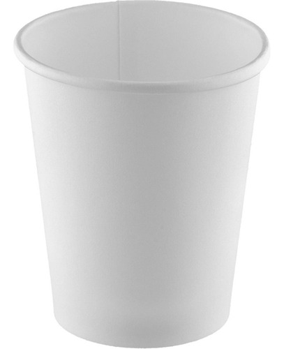 copo de papel descartável 240ml c/ tampa hxin pt 10 un