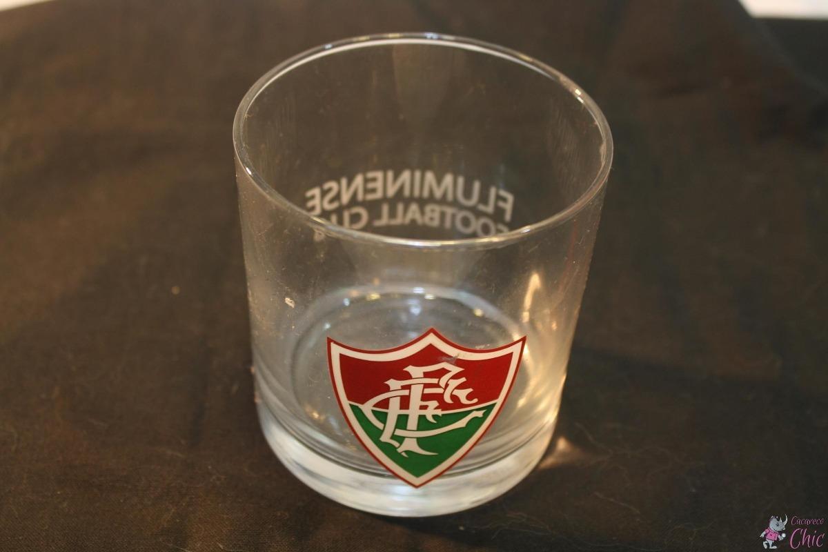 Copo De Whisky Vidro Oficial Fluminense Futebol Club Cchic - R  50 ... 3d8c1f6a195d0