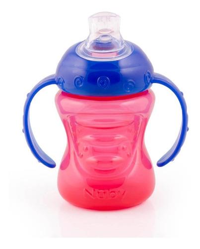 copo infantil de transição bico silicone antivazamento nûby