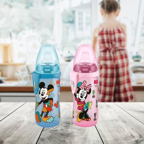 copo infantil transição 12m+ active cup disney by britto nuk