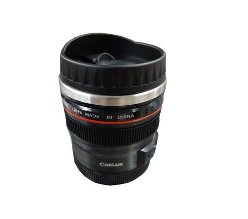 copo lente de camera fotografica so tem tampa bico