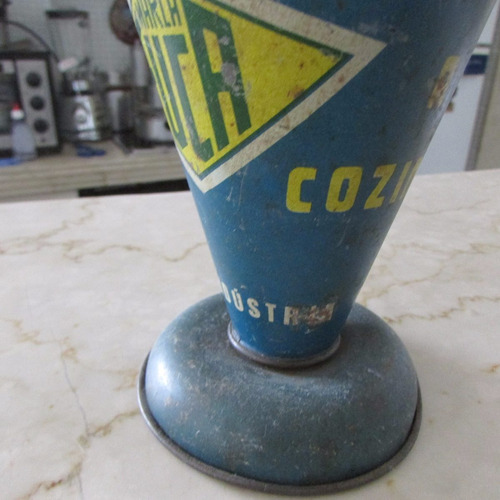 copo medidor alumínio antigo