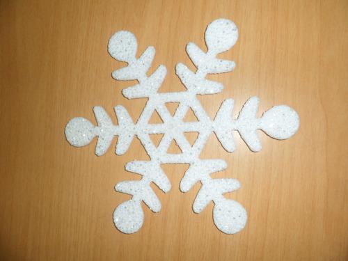 copo nieve decorativo navidad, plastico 22 cm