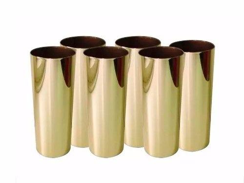 f2e1a78f9 Copo Personalizado Dourado Metalizado-70 Unid-frente E Verso - R ...