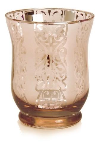 copo porta vela decoração natal 10cm cobre