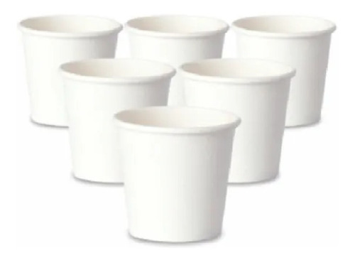 copo térmico papel biodegradável branco 50ml s/ tampa 300 un
