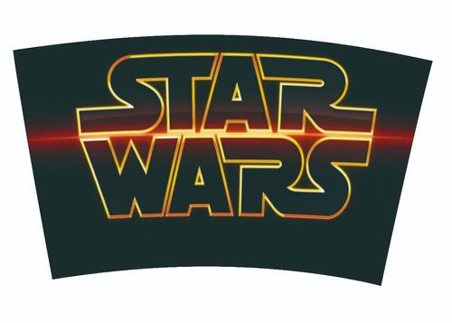 copo térmico star wars tampa rosqueável - não vaza