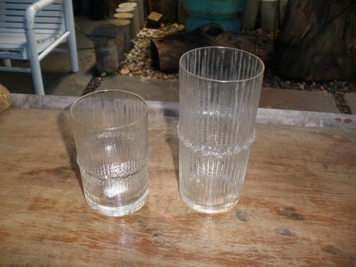 copos antigos - lindos 5 peças