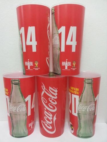 copos coca cola oficiais copa do mundo 2014 brasil