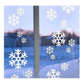 Copos De Nieve Navideños 60 Pza Reutilizables Decora Tu Hogar, Oficina Ó Negocio, Varios Modelos A Elegir Envio Gratis