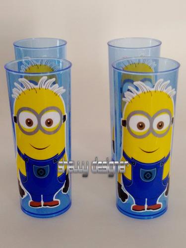 copos long drink personalizado minions