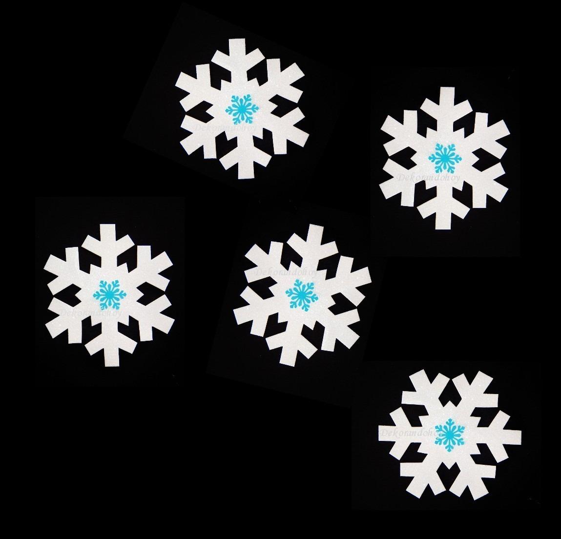 Copos nieve frozen goma eva foamy adorno navidad - Adornos de navidad con cartulina ...