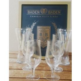 Copos Weiss Baden Baden E Brasão Baden Baden